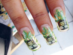 malverde nails narco nails