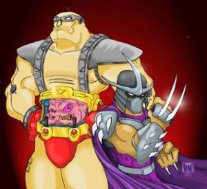 krang shredder krang shredder