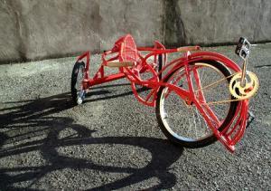 velocipede red velocipede red