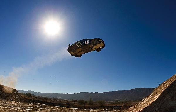 ken block 171 ft jump Living The Life   Ken Block: Co Founder of DC Shoes and Pro Rally Racer