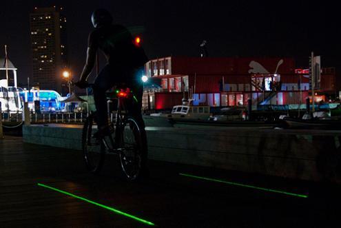 The LightLane: If You Bike at Night, Consider This Light