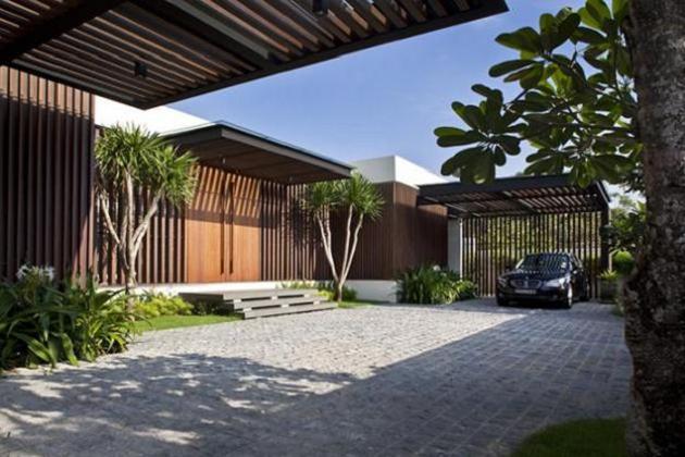 open concept house design six ramsgate 1 Stunning Open Concept House   Six Ramsgate, Singapore