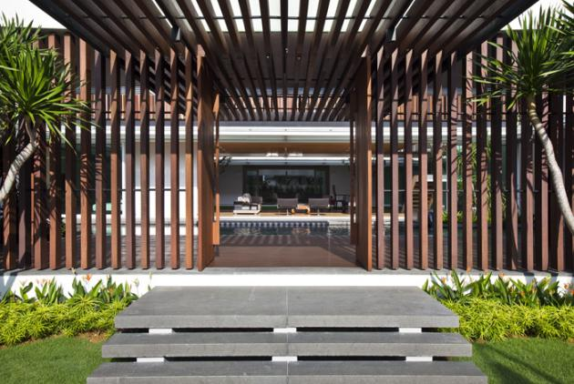 open concept house design six ramsgate 13 Stunning Open Concept House   Six Ramsgate, Singapore