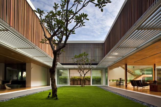 open concept house design six ramsgate 3 Stunning Open Concept House   Six Ramsgate, Singapore