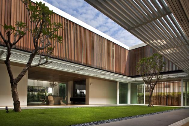 open concept house design six ramsgate 5 Stunning Open Concept House   Six Ramsgate, Singapore