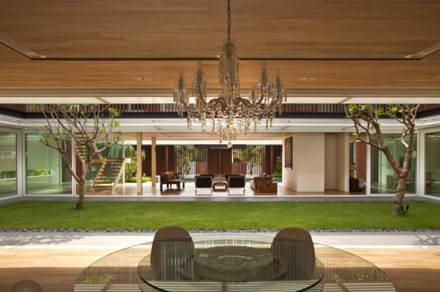 open concept house design six ramsgate 7 Stunning Open Concept House   Six Ramsgate, Singapore