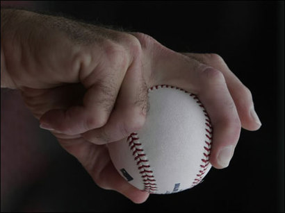 grip for curveball Optical Illusion of the Year: The Break of a Curveball