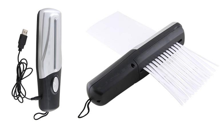 usb shredder 10 Awesome USB Devices and Gadgets
