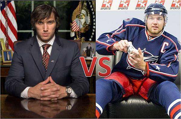 alexander ovechkin and rick nash One Man Shows in Team Sports