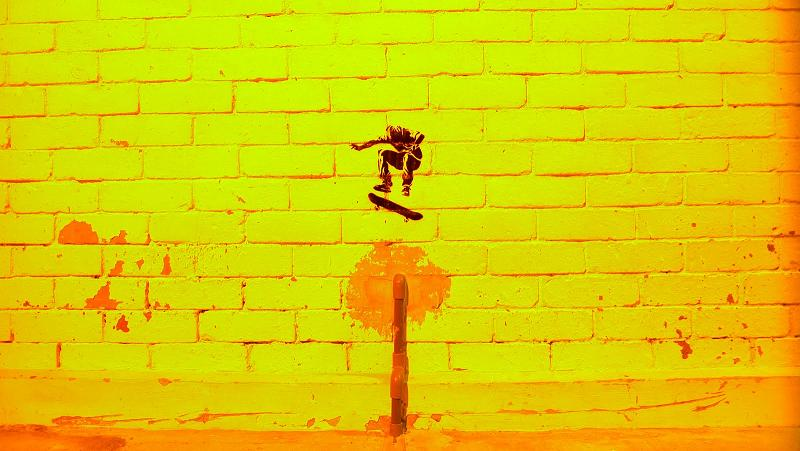 perfect ollie Well Placed Stencil Skaters by TR853 1 (Trase 1)