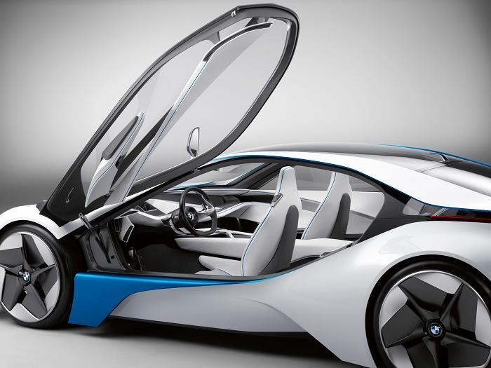 bmw concept disel electric interior BMW Unveils Stunning Hybrid Concept Car