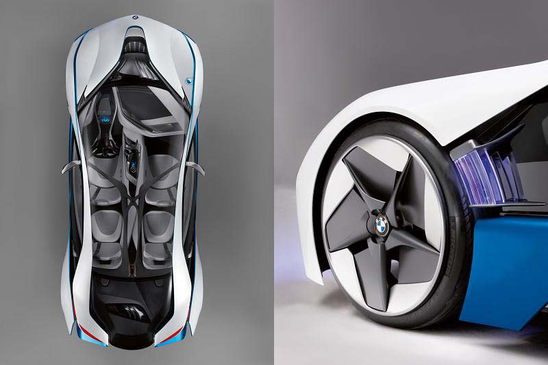 bmw rims BMW Unveils Stunning Hybrid Concept Car