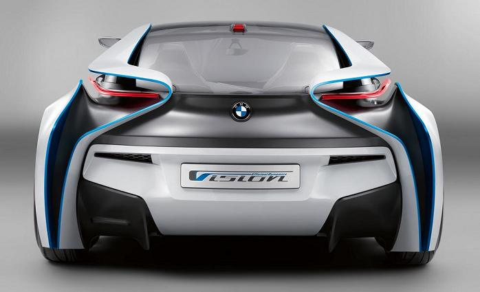 bmw vision efficientdynamics supercar