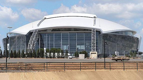 jerrydome jones town jerrys world jones mahal death star cowboys stadium What Costs $1.3 Billion, Holds 111,000 people and Has the Worlds Biggest TV?
