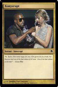 kanye west interrupt magic card kanye west interrupt magic card