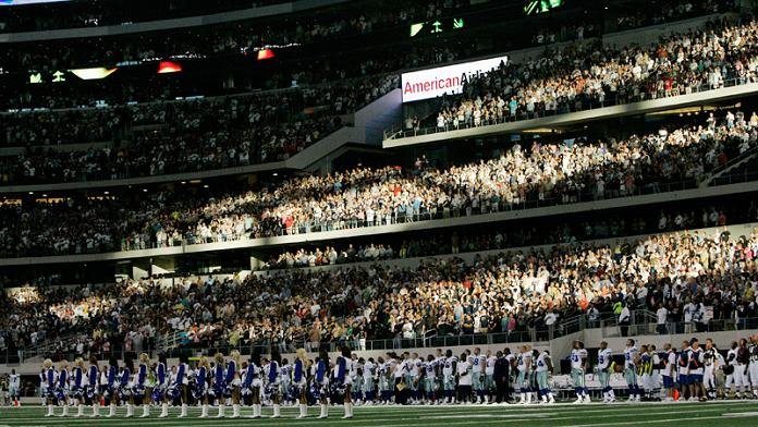 new dallas cowboys stadium jerrys world interior What Costs $1.3 Billion, Holds 111,000 people and Has the Worlds Biggest TV?