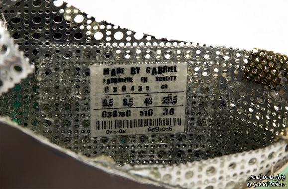 nike shoe junk art gabriel dishaw Nike Shoes Made of Junk, Become Art