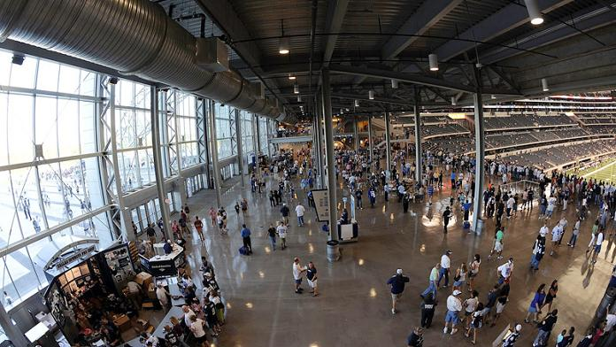 party pass standing room only section cowboys stadium What Costs $1.3 Billion, Holds 111,000 people and Has the Worlds Biggest TV?