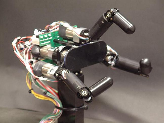 robotic hand Concealed Enemy Got You Down? Theres a Weapon for that