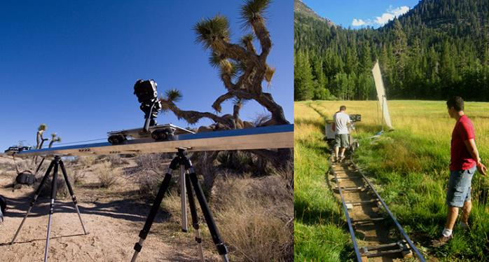 tom timescapes dolly setup Hypnotic Time Lapsed Cinematogrpahy