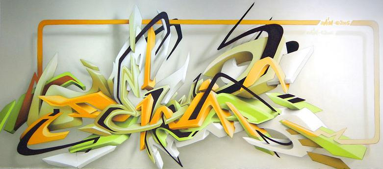 daim-graffiti-mural-3d-lettering