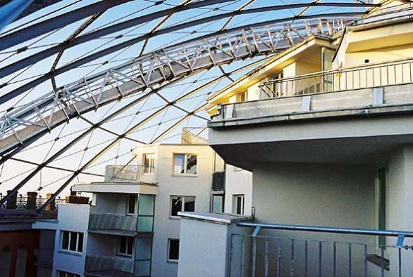 g city interior vienna gazometer Industrial Renovation: The Gasometers of Vienna