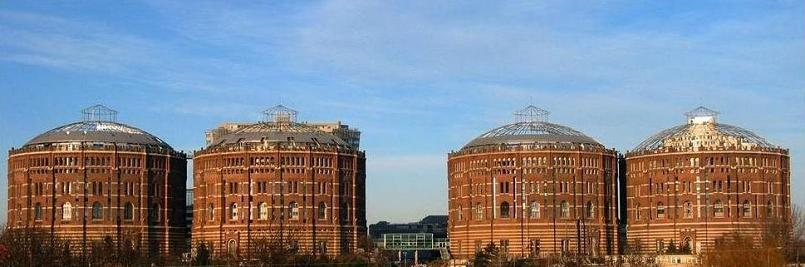 Industrial Renovation: The Gasometers of Vienna
