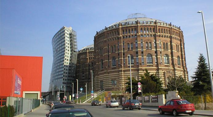 gazometers vienna restoration conversion Industrial Renovation: The Gasometers of Vienna