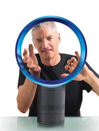inventor james dyson bladeless fan air multiplier The Bladeless Fan