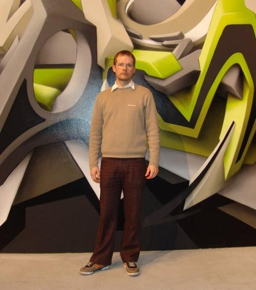 mirk reisser daim picture profile artist 3D INSANITY With Only Four Letters