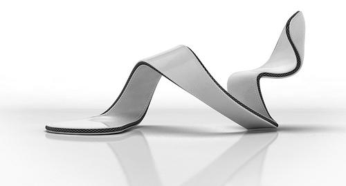 only heel and ball shoe wrap design justin hakes The Open Concept Shoe   Mojito by Julian Hakes