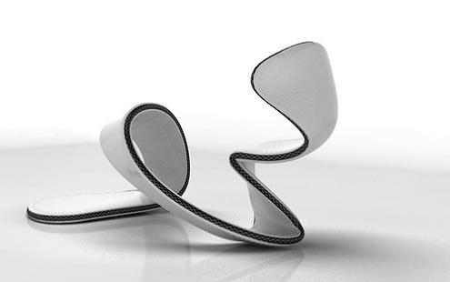 spiral shoe design mojito justin hakes The Open Concept Shoe   Mojito by Julian Hakes