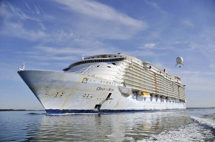 largest cruise ship in the world oasis of the seas The Largest Cruise Ship in the World is Five Times the Size of the Titanic