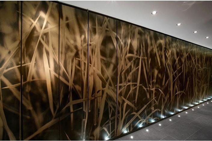 multi panel artwork The $10 Million Aquarius Penthouse Feels Like a Nightclub