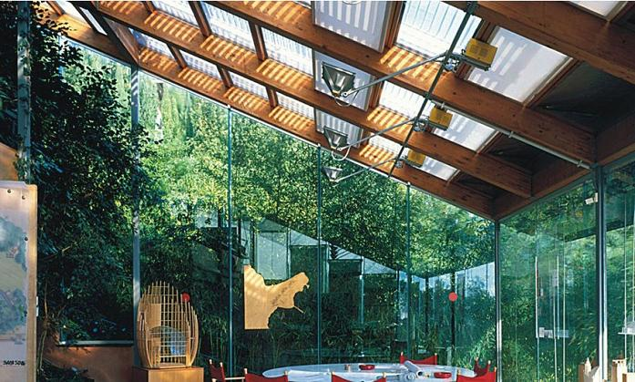 natural light interior renzo piano workshop Serenity Now: The Renzo Piano Building Workshop in Punta Nave