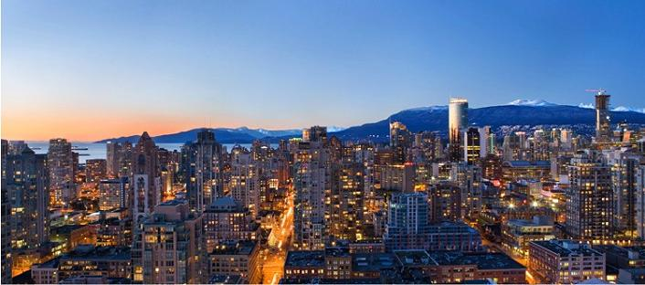 nicest view in vancouver skyline The $10 Million Aquarius Penthouse Feels Like a Nightclub