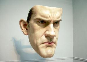 realistic face sculpture ron mueck realistic face sculpture ron mueck