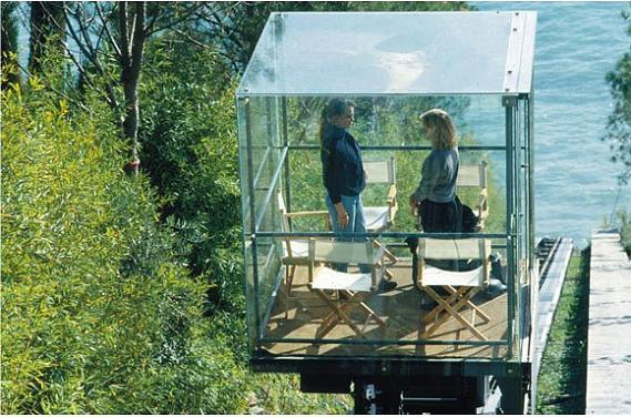 small glass room cone of silence renzo piano Serenity Now: The Renzo Piano Building Workshop in Punta Nave