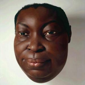super realistic face sculpture super realistic face sculpture
