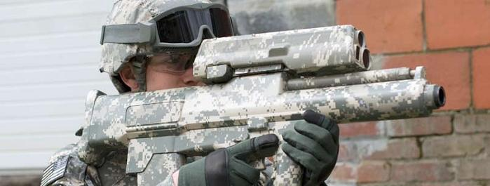 xm 25 individual airburst weapons system grenade launcher rifle Concealed Enemy Got You Down? Theres a Weapon for that