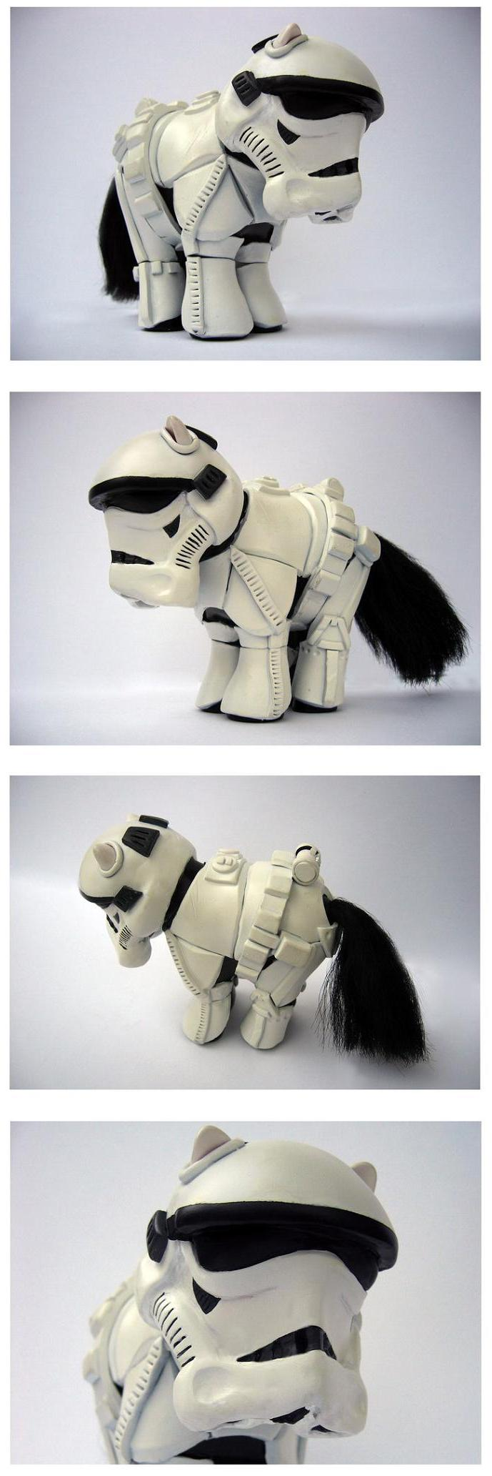 my little pony stormtrooper by spippo Stormtrooper Inspired Art and Design