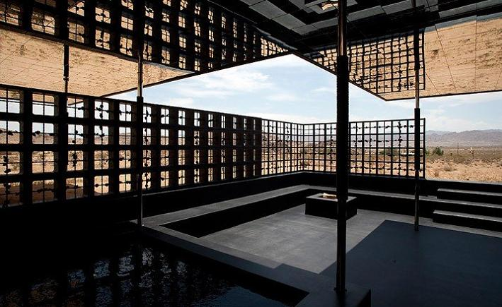 open concept design rosa muerta desert house joshua tree What Happens When a Punk Rocker Designs a Desert Home?