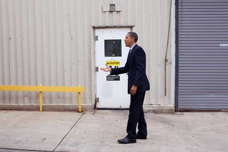 president barack obama invisible hand shake Picture of the Day   December 28, 2009