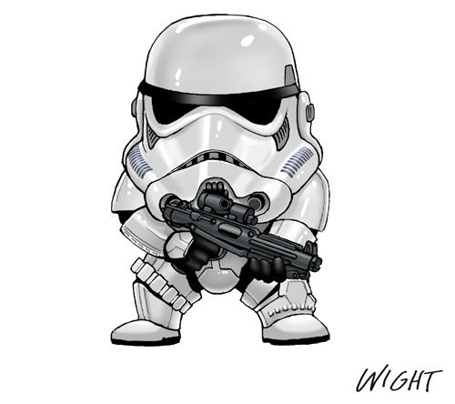 s is for stormtrooper by joe wight Stormtrooper Inspired Art and Design