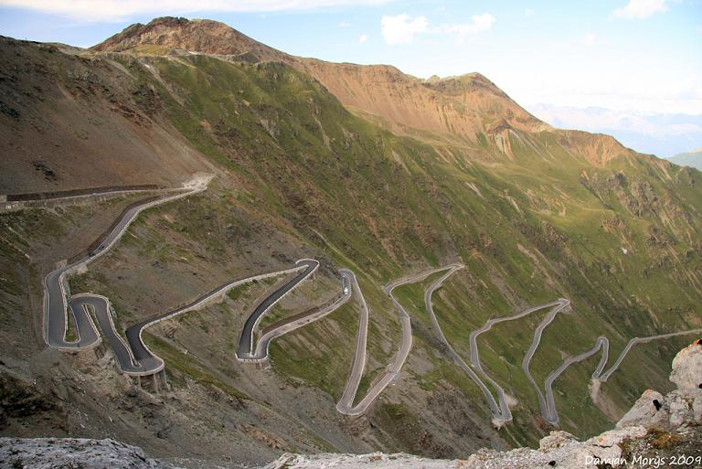 stelvio pass italy Picture of the Day   December 2, 2009