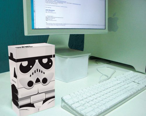 stormtrooper hard drive enclosure Stormtrooper Inspired Art and Design