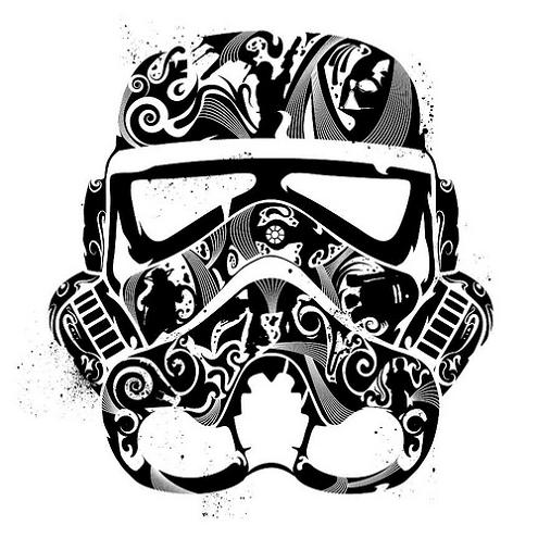 stormtrooper line art Stormtrooper Inspired Art and Design