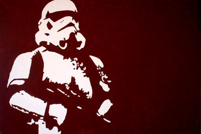 stormtrooper stencil art Stormtrooper Inspired Art and Design