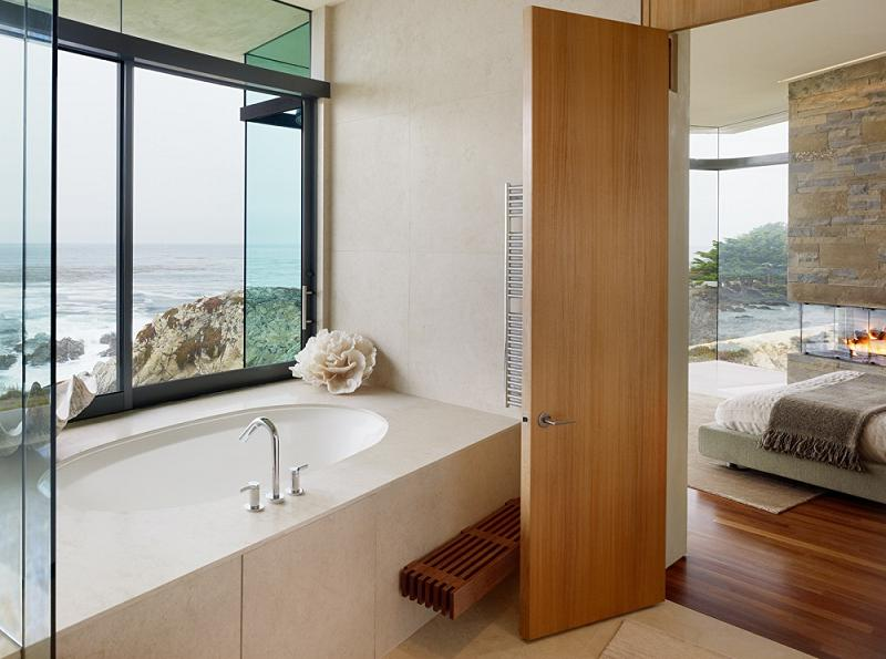 bathroom bedroom with oceanfront view An Ocean of Emotion: The View from Otter Cove