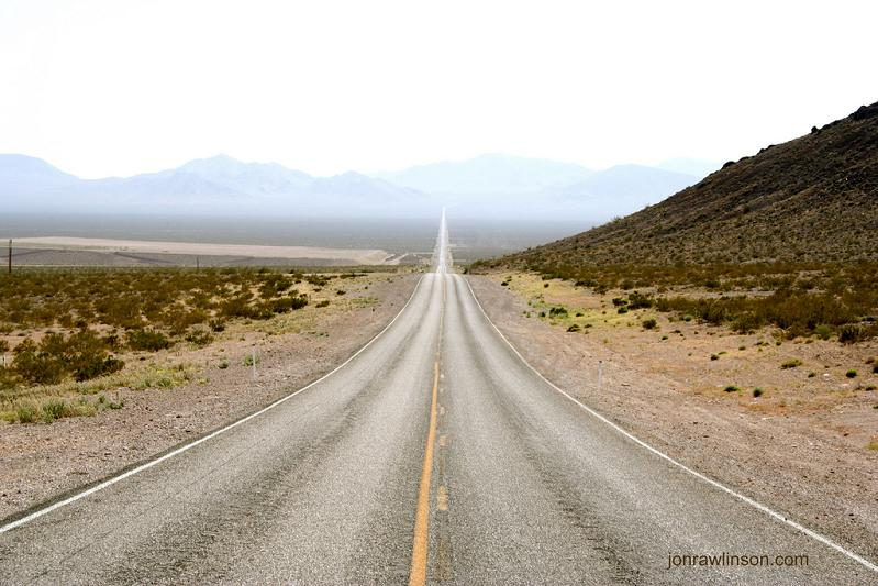 long road ahead death valley california Picture of the Day   January 10, 2010